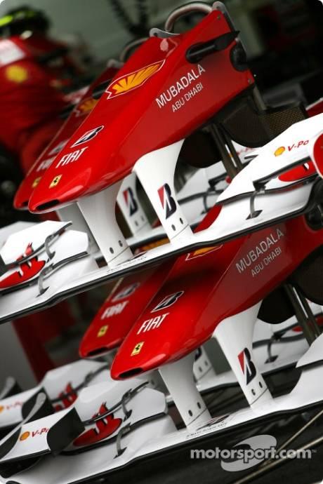 Scuderia Ferrari, Front Wings