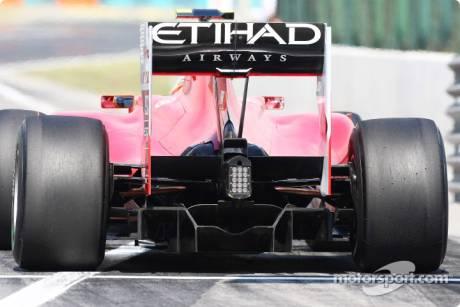 Scuderia Ferrari, Rear Diffuser