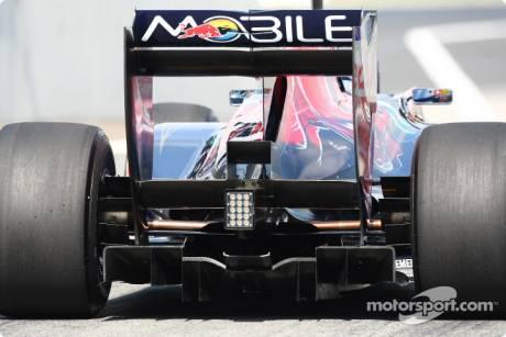 Scuderia Toro Rosso, Rear Diffuser