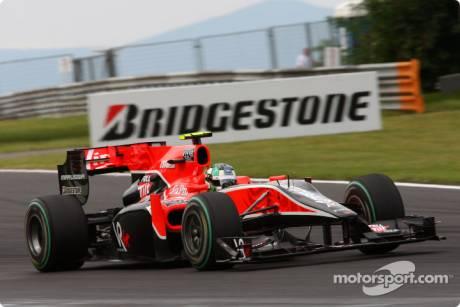 Lucas di Grassi, Virgin Racing, VR-01