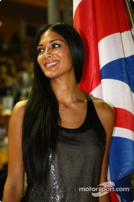 Nicole Scherzinger, Singer in the Pussycat Dolls, Girlfriend of Lewis Hamilton