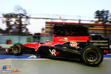 Virgin Racing, VR-01