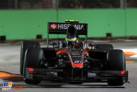 Bruno Senna, Hispania Racing F1 Team, F110