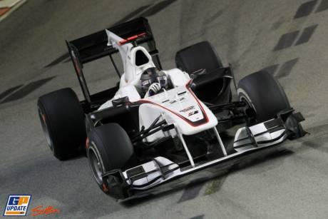Nick Heidfeld, Sauber F1 Team, C29