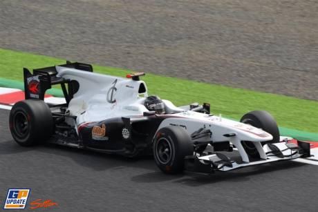 Sauber F1 Team, C29, Nick Heidfeld