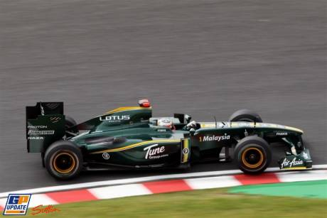 Lotus F1 Team, T127, Heikki Kovalainen