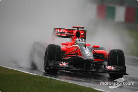 Timo Glock, Virgin Racing, VR-01