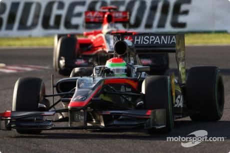 Sakon Yamamoto, Hispania Racing F1 Team, F110