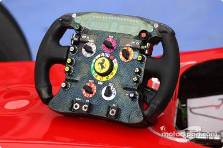 Scuderia Ferrari, F10, Steering Wheel