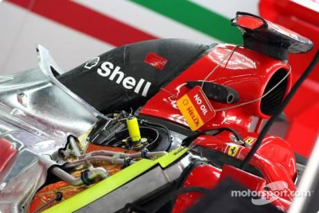 Scuderia Ferrari, F10, Technicial Detail