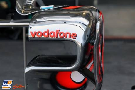 McLaren Mercedes, MP4-25, Detail