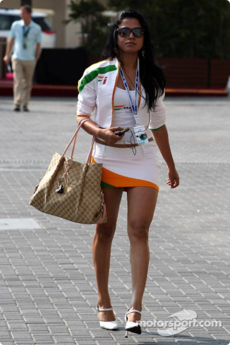 A Force India Girl