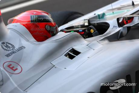 Michael Schumacher, Mercedes GP F1 Team, MGP W01