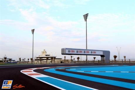 View on Yas Marina Circuit
