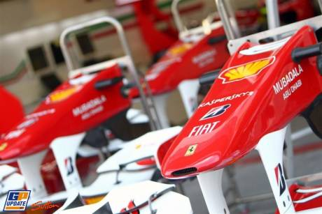 Scuderia Ferrari, F10, Front Wings