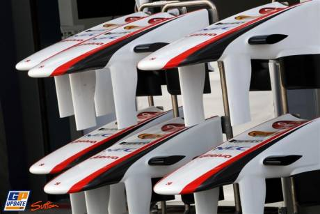 Nosecones of the Sauber C30