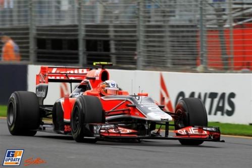 Timo Glock, Marussia Virgin Racing, MVR-02