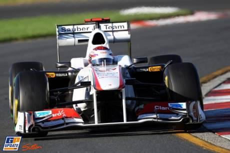 Kamui Kobayashi (Sauber F1 Team, C30)