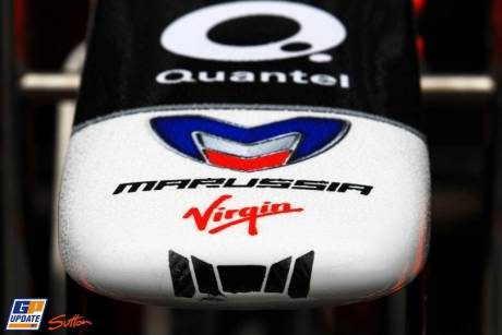 Nosecone of the Marussia Virgin MVR-02