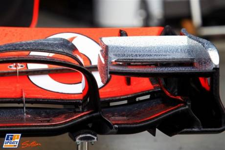 Frontwing of the McLaren Mercedes MP4-26
