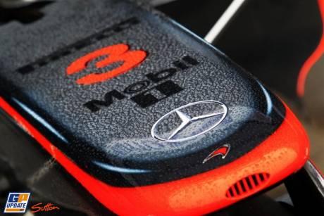 Nosecone of the McLaren Mercedes MP4-26
