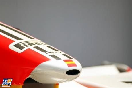 Detail of nosecone of HRT F111