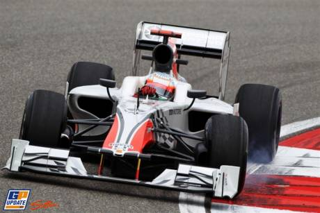 Narain Karthikeyan, Hispania Racing F1 Team, F111