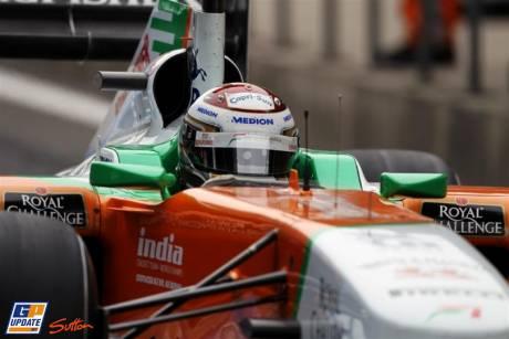 Adrian Sutil, Force India F1 Team, VJM04