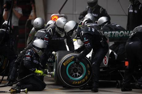 Statistics Chinese Grand Prix of 2011