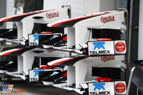 Front Wings for the Sauber C30