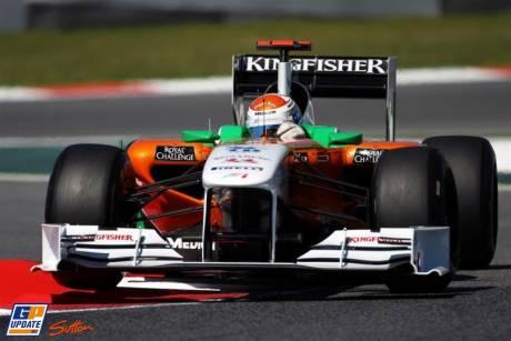 Nico Hulkenberg, Force India F1 Team, VJM04