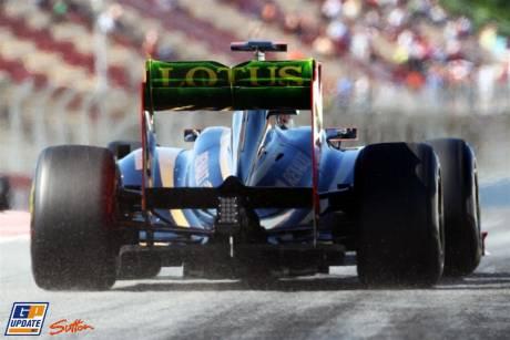 Diffuser for the Lotus Renault GP R31