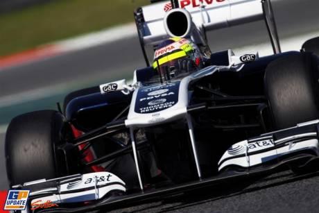 Pastor Maldonado, Williams F1 Team, FW33