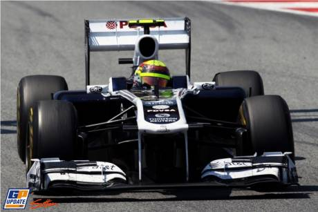 Pastor Maldonado (Williams F1 Team, FW33)