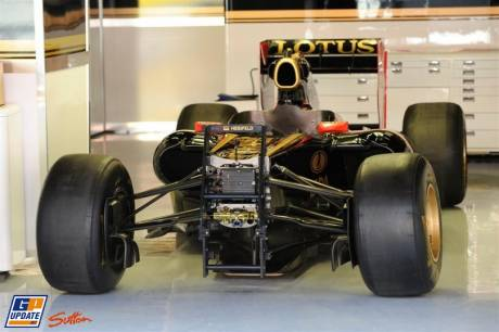 The Lotus Renault GP R31