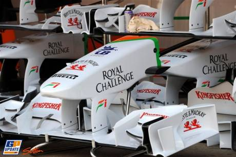 Front Wings for Force India F1 Team