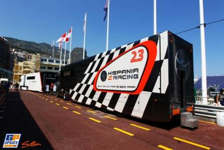 Truck for Hispania Racing F1 Team