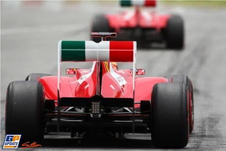 Felippe Massa and Fernando Alonso, Scuderia Ferrari, 150 Italia