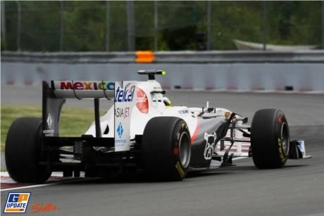 Pedro De La Rosa, Sauber F1 Team, C30