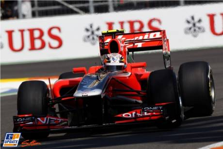 Timo Glock, Marussia Virgin Racing, MVR-02