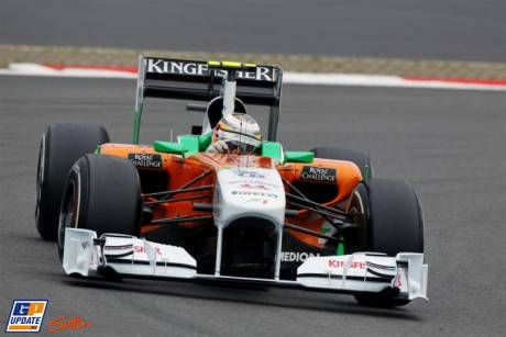Nico Hulkenberg, Force India F1 Team, VJM04