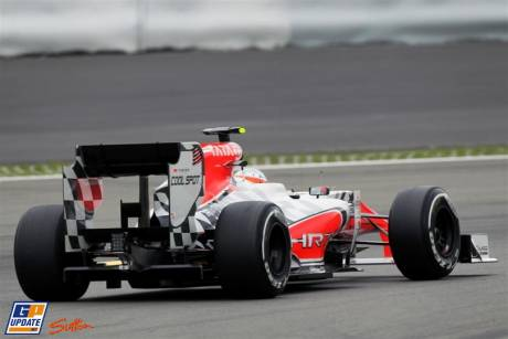 Narain Karthikeyan, Hispania Racing F1 Team, F111