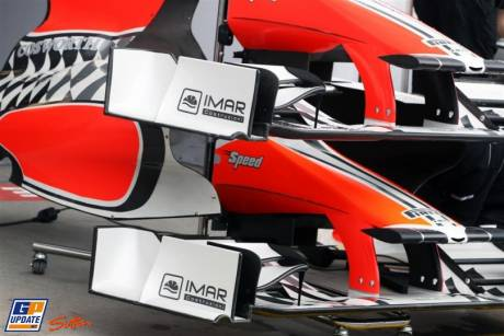 Front Wings of the Hispania Racing F1 Team F111