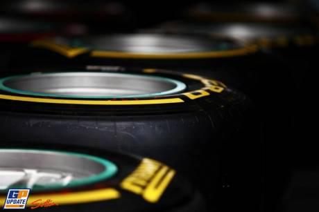 The Pirelli P-Zero Tyres