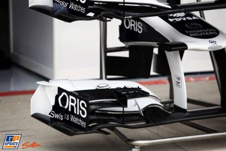 Front Wing Endplate for the Williams F1 Team FW33