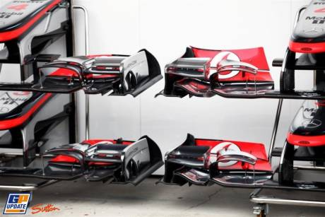 Front Wings for the McLaren Mercedes MP4-26