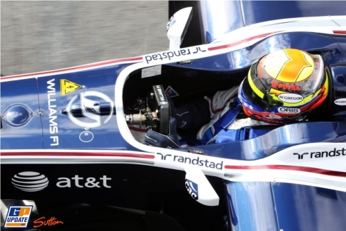 Pastor Maldonado, Williams F1 Team, FW33