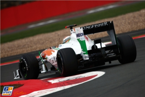 Adrian Sutil, Force India F1 Team, VJM04