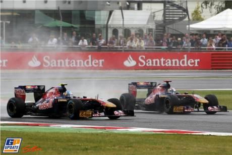 Sebastien Buemi and Jaime Alguersuari, Scuderia Toro Rosso, STR6