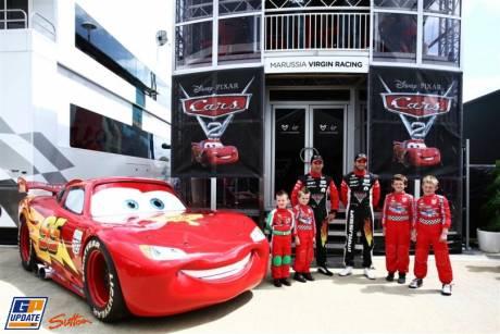 Marussia Virgin Racing and Cars 2, Timo Glock, Jerome D'Ambrosio